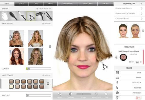 Simulador de tintura de cabelo online mundodastribos for Simulador cocinas online gratis