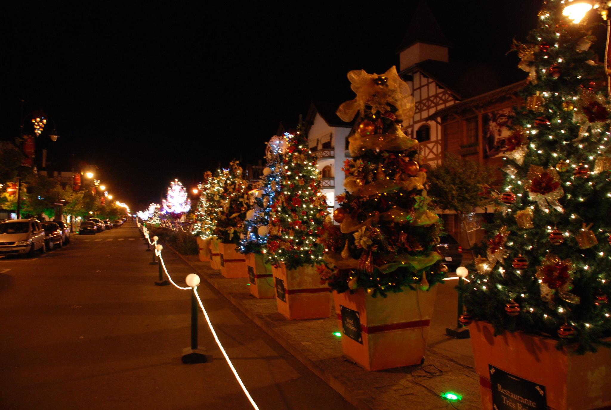 Enfeites de Natal de Gramado que deixam a cidade é mais linda (Foto: Divulgação)