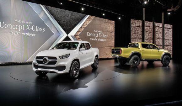Mercedes-Benz Classe X picape: fotos, lançamento