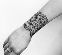 Tatuagem bracelete 2017 tendências e fotos