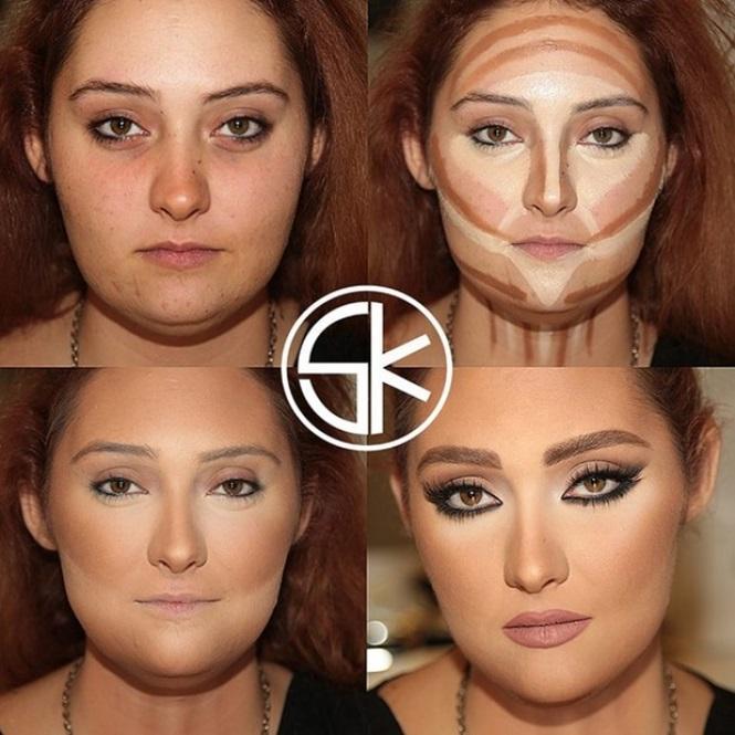 Maquiagem para emagrecer (Foto: Divulgação)