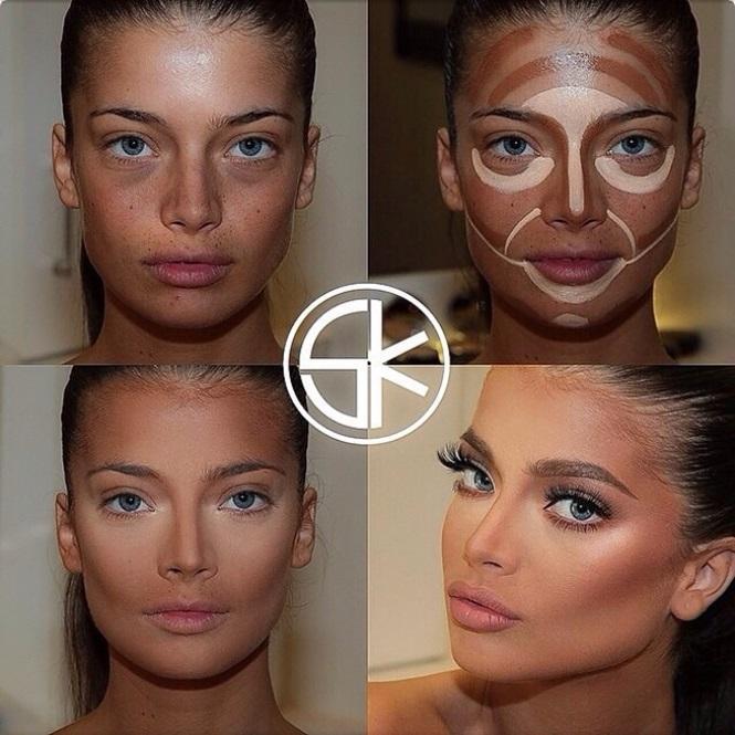 Maquiagem que acaba com olhos profundos (Foto: Divulgação)