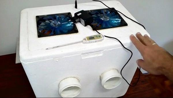 Ar-condicionado caseiro