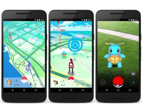 O jogo Pokémon Go também foi sucesso na internet (Foto: Reprodução Niantic)