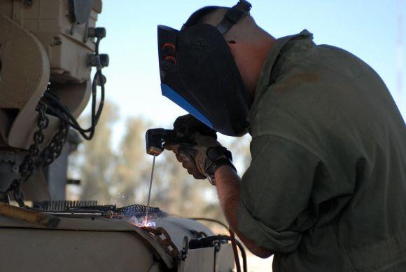 A disciplina de soldagem faz parte do curso de Fabricação Mecânica (Foto Ilustrativa)