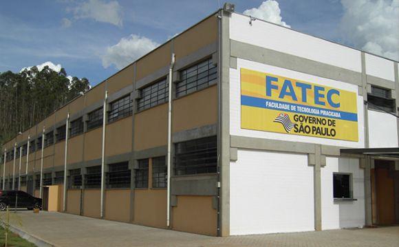 Fatec de Piracicaba (Foto: Reprodução Centro Paula Souza)