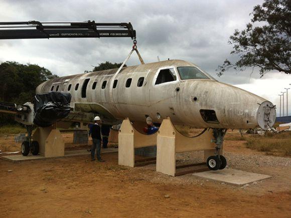 Manutenção de Aeronaves é um dos cursos disponíveis (Foto: Reprodução Fatec)