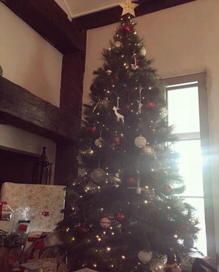 Árvore de Natal da Miranda Kerr (Foto: Reprodução Instagram)