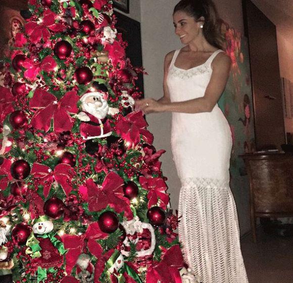 A árvore de Natal da Giovanna Antonelli (Foto: Reprodução Instagram)