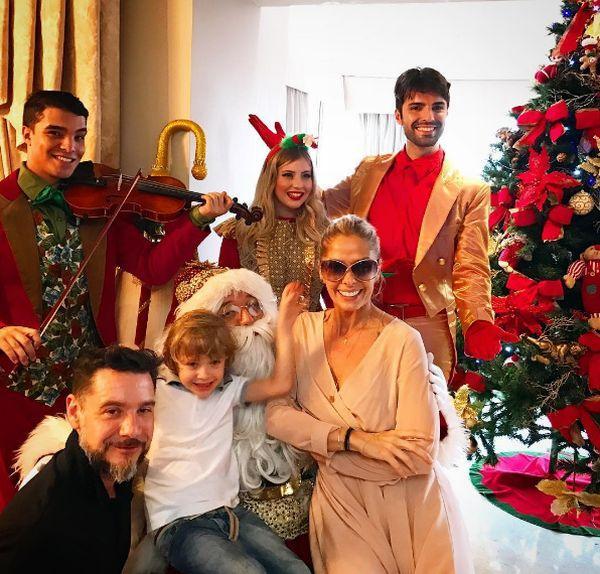 Decoração de Natal 2016 dos Famosos (Foto: Reprodução Instagram)