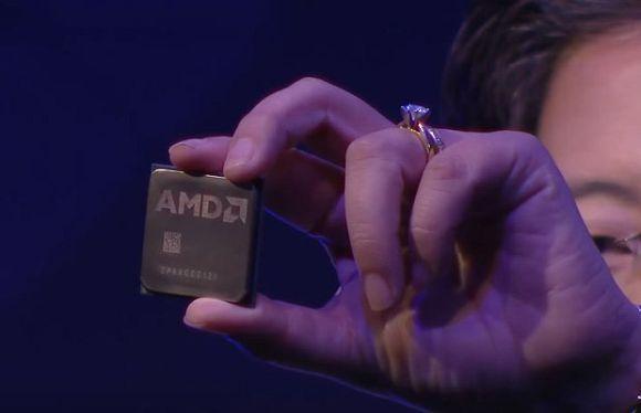 Os novos chips Ryzen da AMD prometem maior desempenho e menos gasto de energia (Foto: Divulgação AMD)