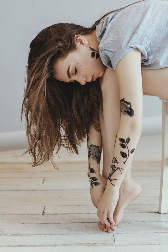Tatuagens Femininas