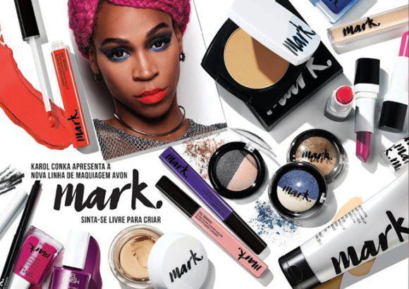 Mark a nova marca de maquiagem da Avon 2017