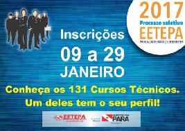Seduc cursos técnicos gratuitos Pará 2017