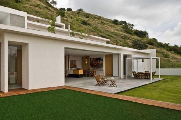 25 plantas de casas modernas com projeto 3d lindos for Casas en ele modernas