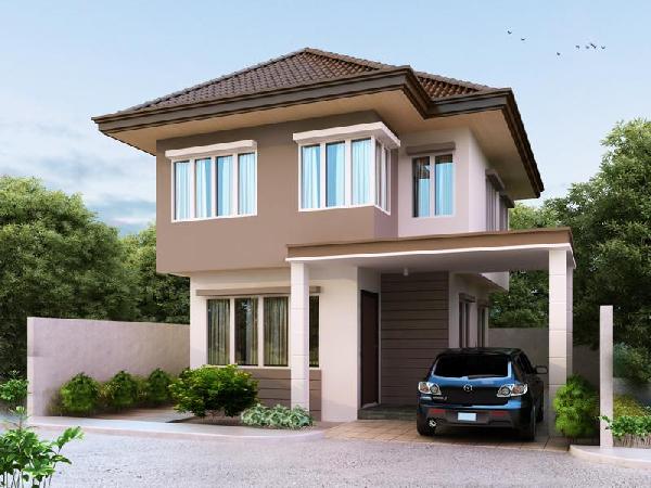 25 plantas de casas modernas com projeto 3d lindos for Modern zen house design manila