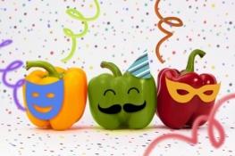Dicas de Alimentação para o Carnaval pimentões coloridos