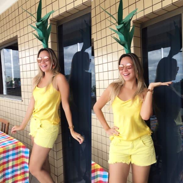 fantasias de carnaval baratas abacaxi