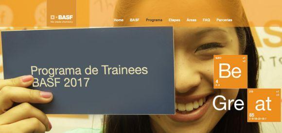 Basf Programa Trainee 2017
