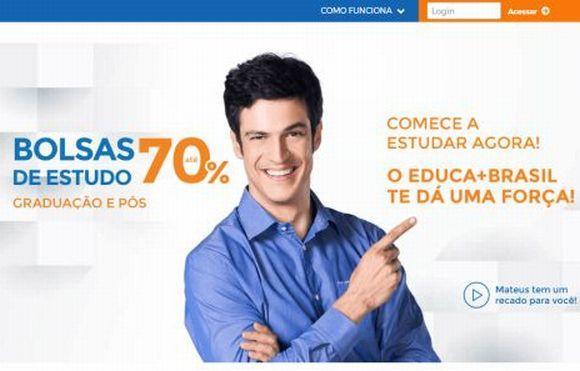 Educa Mais Brasil inscrições para bolsas no Ceará 2017 (Foto