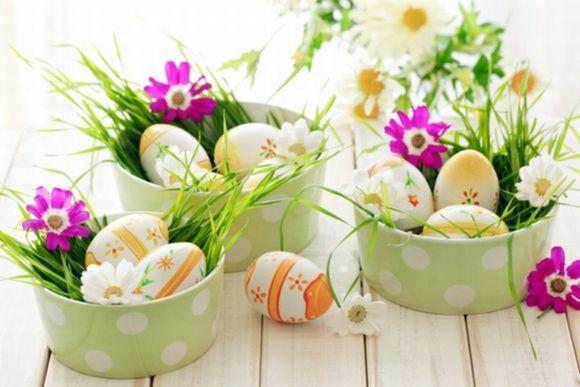 Ideias para enfeites e decoração de Páscoa 2017