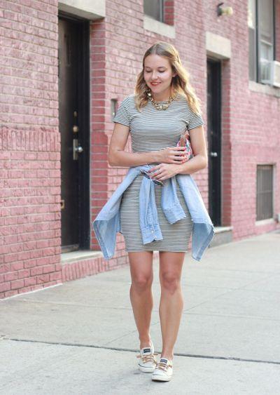 Vestido com tênis: saiba combinar e fazer looks