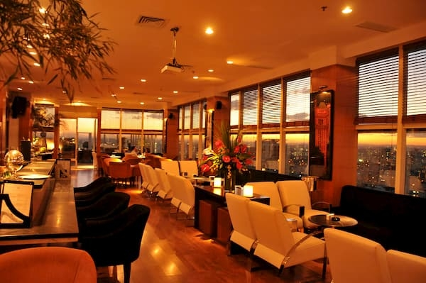 Principais Restaurantes em São Paulo The View Bar
