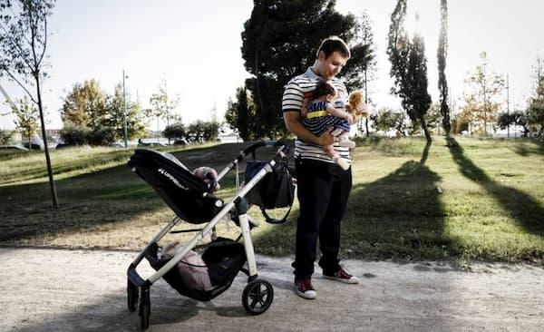 Licença Maternidade 120 Dias pai com bebe