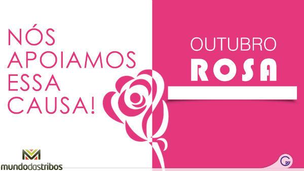 Cartão com rosa e branco