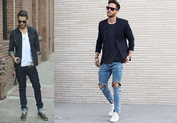 looks masculinos para natal 2018 calça jeans