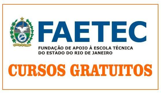 22 mil vagas de Cursos Gratuitos na FAETEC