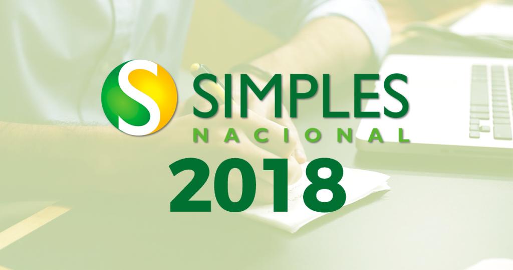 Novas Regras do Simples Nacional 2018