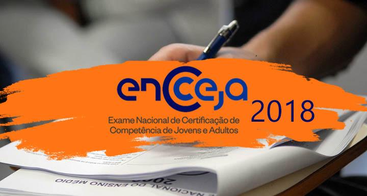 Edital Encceja 2018 INEP