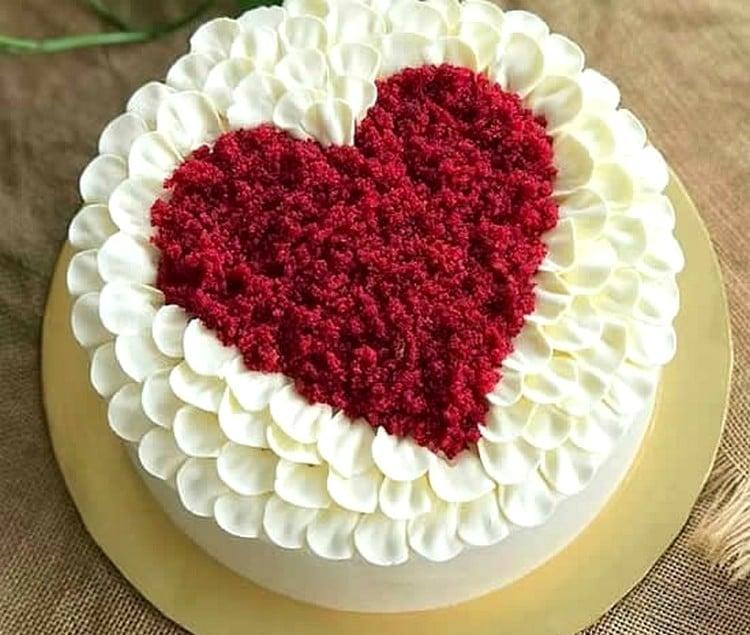 bolo para dia dos namorados