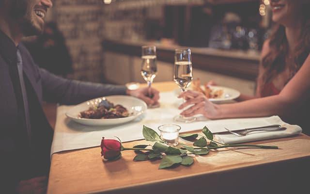 jantar de dia dos namorados