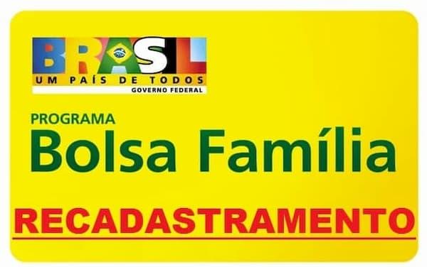 Recadastramento do Bolsa Família Brasil