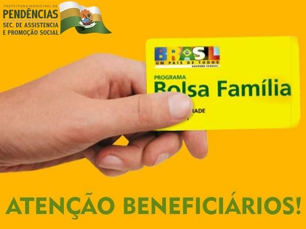 Recadastramento do Bolsa Família cartão
