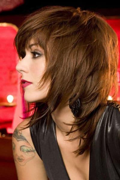 corte de cabelo feminino medio desfiado
