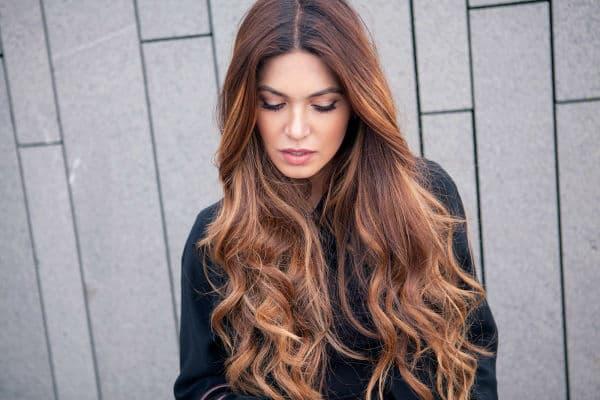 cortes de cabelo feminino longo ondulado lindo