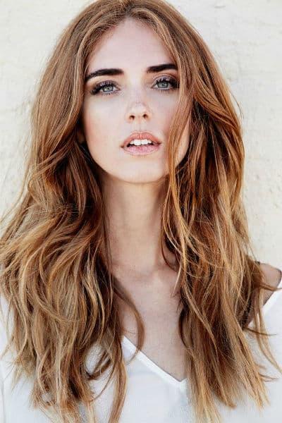 cortes de cabelo feminino longo ruivo