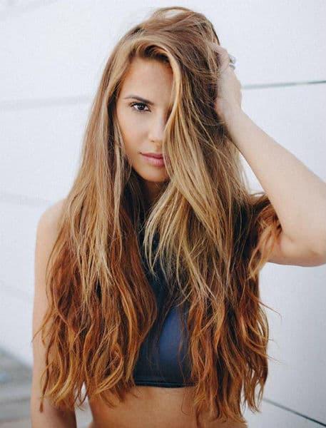 cortes de cabelo feminino longo surf