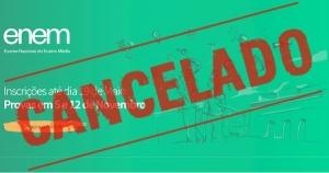 Como Cancelar Inscrição do Enem cancelado