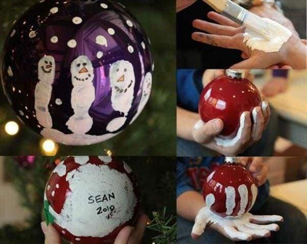 Decoração de Natal 2018 Dicas, Fotos e Ideias com bolas de natal decoradas