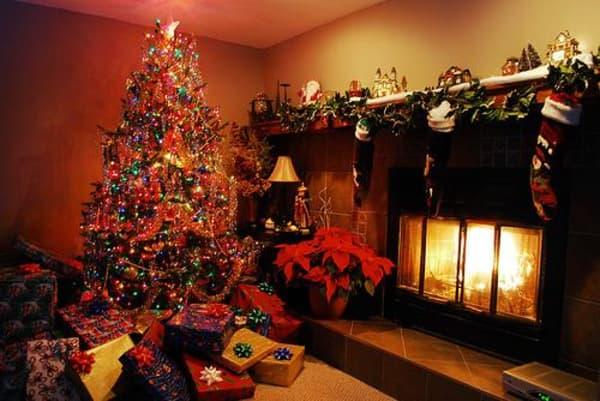 Decoração de Natal 2018 Dicas, Fotos e Ideias com botas de natal