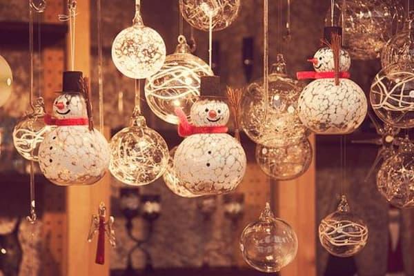 Decoração de Natal 2018 Dicas, Fotos e Ideias com luzes e bonecos de neve