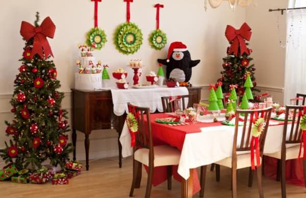 Decoração de Natal 2018 Dicas, Fotos e Ideias com pinheiros verdes