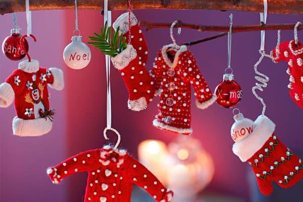 Decoração de Natal 2018 Dicas, Fotos e Ideias com roupinhas de noel