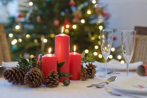 Decoração de Natal 2018 Dicas, Fotos e Ideias com velas