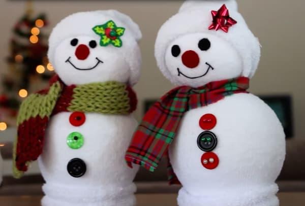 Os significados dos enfeites de Natal boneco de neve