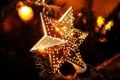 Os significados dos enfeites de Natal estrela de Natal